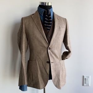 🔥🔥🔥SALE SPECIAL Prince of Whales Linen Blazer